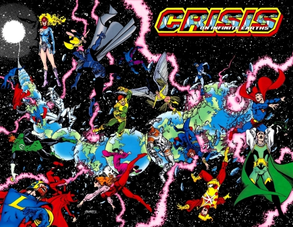 Crisis on Infinite Earths issue 1 cover