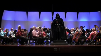 Darth Vader conducted the Rochester Symphony